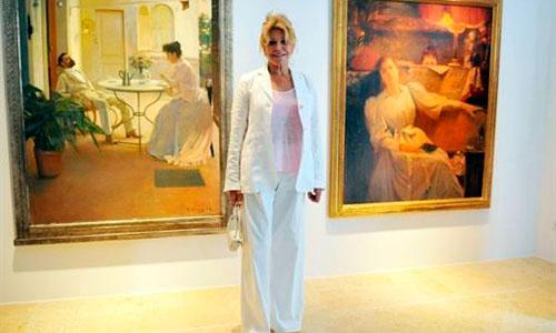La baronesa Thyssen se lleva parte de su colección a Barcelona
