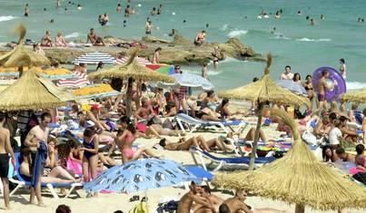 Balears recibió hasta el mes de junio 4,4 millones de turistas extranjeros