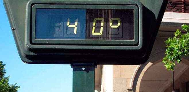 Mallorca rozará hoy y mañana los 40