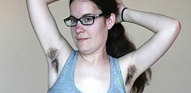 Triunfa por no depilarse