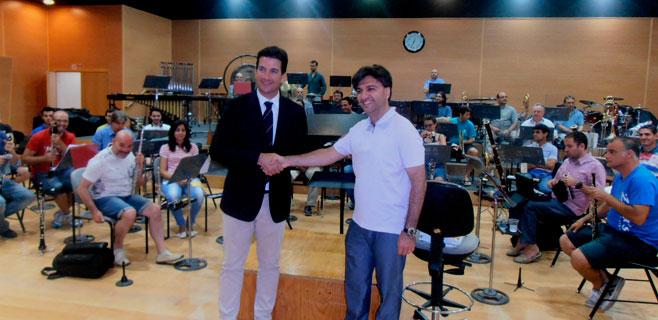 Salvador Sebastià, nuevo director de la Banda Municipal de Música
