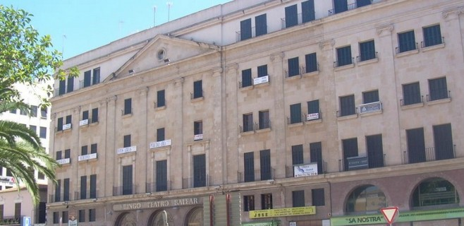 El Teatro Balear aspira a convertirse en el nuevo casino de Mallorca