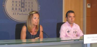Cabrer ratifica el apoyo del PP a Rajoy y tacha a Bárcenas de mafioso