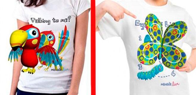 Llegan las camisetas en 3D