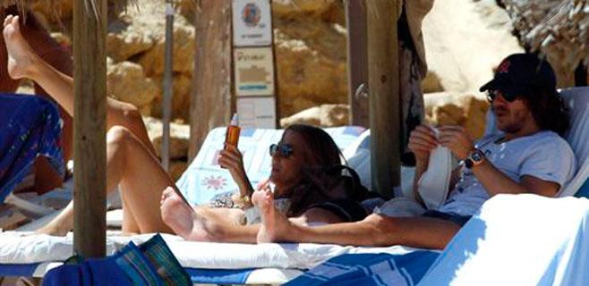 Las primeras vacaciones de Carles Puyol y Vanesa Lorenzo