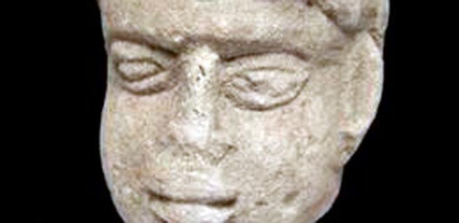 Hallada una cabeza de dios romano en un antiguo vertedero