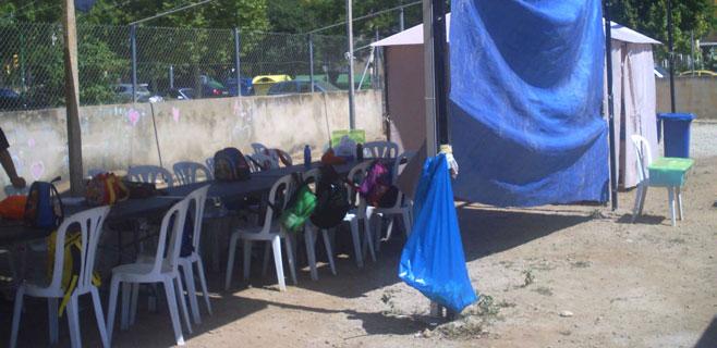 Cort precinta una escuela de verano en el Polígono de Levante