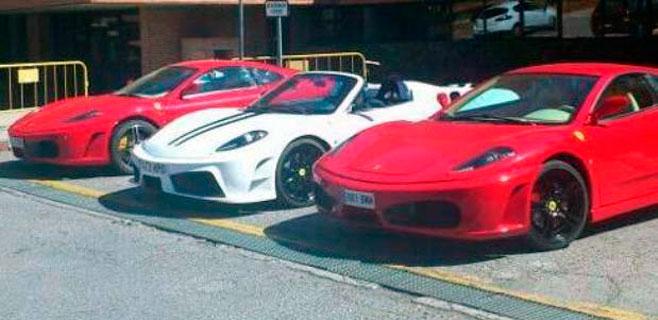 Vendían Ferraris con motores Toyota