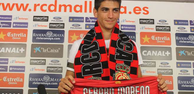 Gerard Moreno quiere subir al Mallorca a Primera