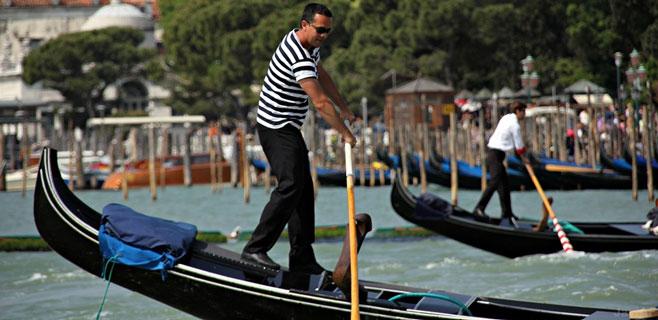 Controles antidroga para los gondoleros de Venecia