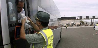 Chófer da positivo en heroína y hachís conduciendo un bus repleto de turistas