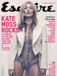 El atrevido posado de Kate Moss