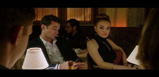 Lindsay Lohan se destapa en su última película
