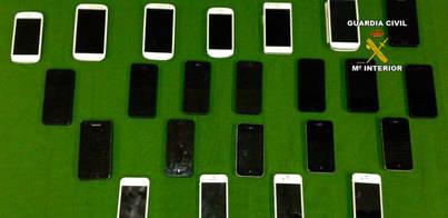 Detenido por el robo de 23 teléfonos móviles de alta gama en Mallorca
