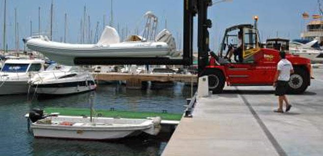 El Club Nàutic de Sa Ràpita inaugura la primera marina seca de Mallorca