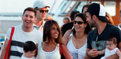 Messi descansa en Eivissa