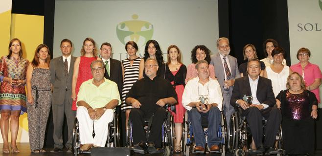 Entrega de los Premios Solidarios ONCE Illes Balears
