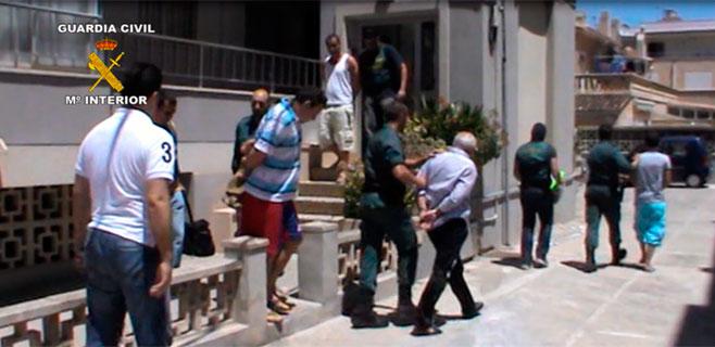 Desarticulada una banda kosovar que robaba cajas fuertes en hoteles