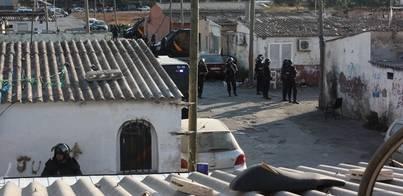 Apenas un kilo de droga en la operación contra el 'clan del Raúl'