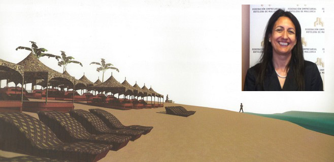 Los hoteleros ven muy positivo el proyecto del 'Beach Club'