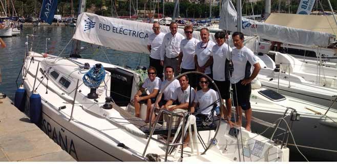 Presentación velero Red Eléctrica en la 32ª edición de la Copa de Rey