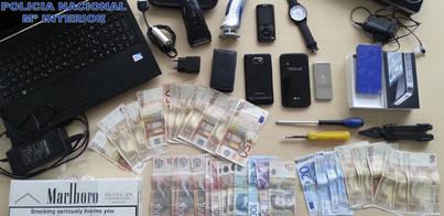 Detenidas tres personas por robo con fuerza en hoteles de la Platja de Palma