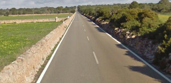 Fallece un motorista en un choque frontal a dos kilómetros de s'Estanyol