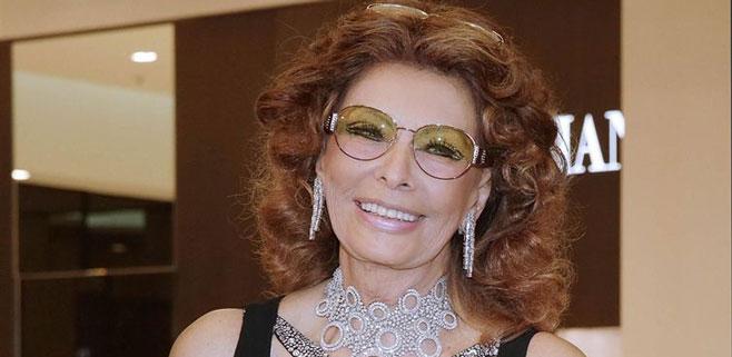 Sofía Loren vuelve al cine a los 78 años
