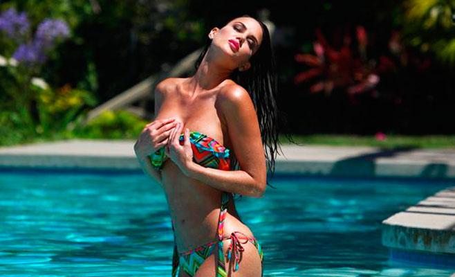 Tiffany Taylor, el bikini más sexy de la temporada