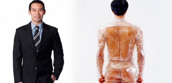Un traje que transparenta cuando quien lo lleva miente