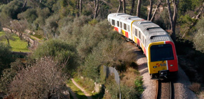 El PSIB critica la eliminación de trenes en hora punta este verano
