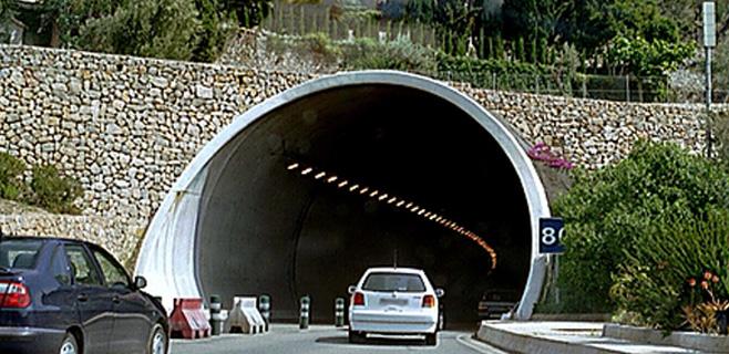 El túnel de Sóller se cerrará por las noches hasta el próximo jueves