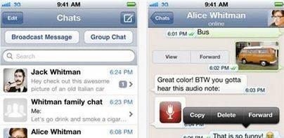 WhatsApp en iOS también será de pago