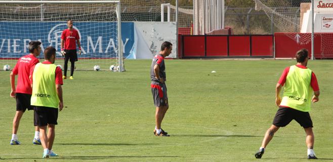 José Luís Oltra, entrenador del Real Mallorca