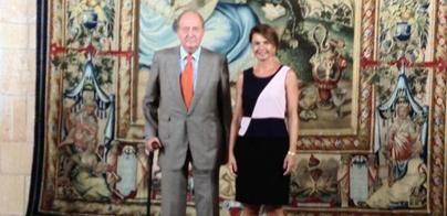 El Rey Juan Carlos y Bauzá piden más contundencia contra los pirómanos