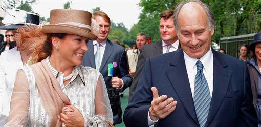 La familia Aga Khan arropa a la infanta en Ginebra