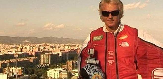 Muere Álvaro Bultó practicando wingfly