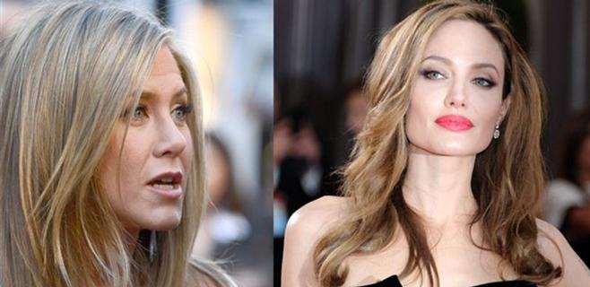 J. Aninston cambia de vuelo para no coincidir con Angelina Jolie