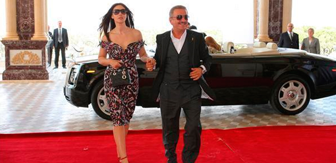 Monica Bellucci dejó a su marido por un magnate de Azerbayán