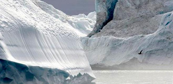En Groenlandia hay un cañón como el del Colorado
