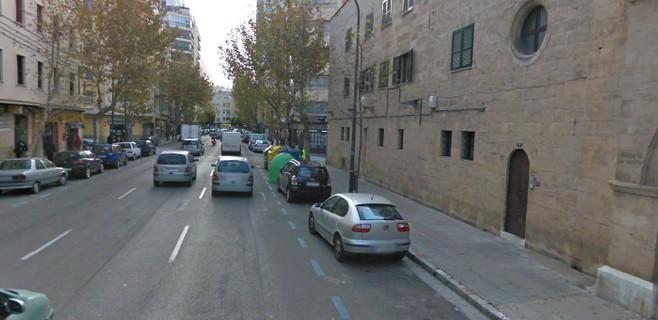 Cort asfalta durante el día de hoy la calle Rafael Rodríguez Méndez
