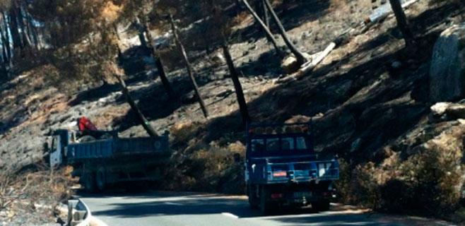 El Consell prepara un decreto urgente para paliar los daños del incendio
