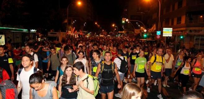 7.000 'marxaires' participan en el 'Des Güell a Lluc a peu