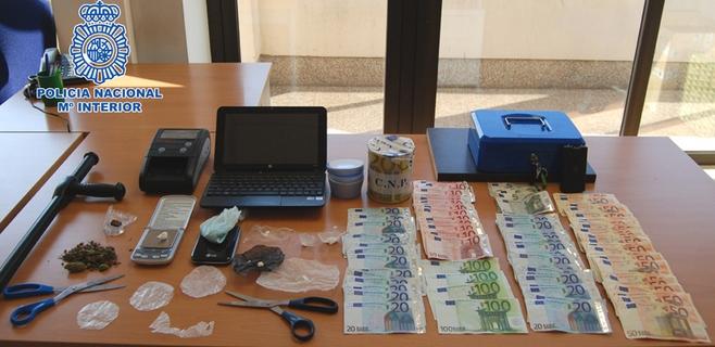 Detenidos los encargados de una casa de citas de Palma por tráfico de drogas
