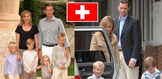 Urdangarin también vivirá en Suiza