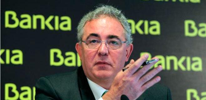 Bankia paga una indemnización de 462.000 euros a Francisco Verdú