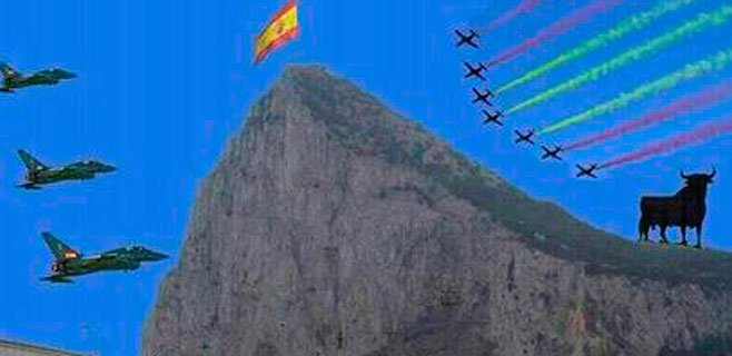 Un montaje de un alcalde del PP sobre Gibraltar irrita en U.K.