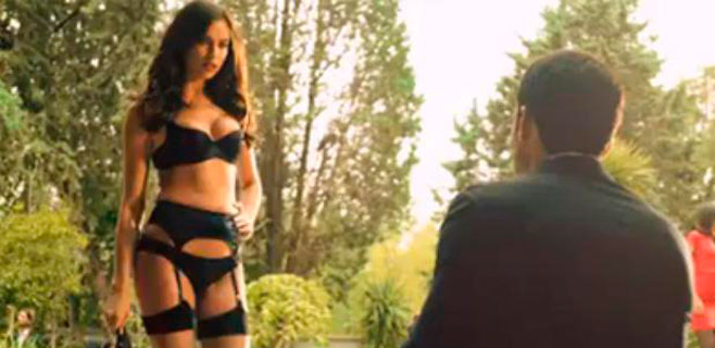 Irina Shayk seduce al Duque