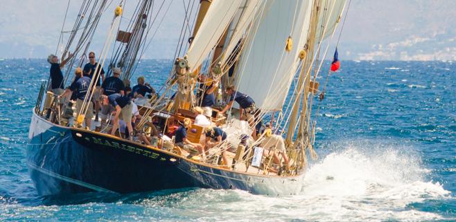 Primera jornada de la regata Almirante Conde de Barcelona