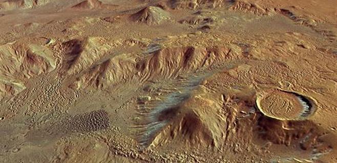 Nuevas evidencias de que la vida empezó en Marte